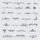 Die besten grafischen Elemente für Design Stockfotos