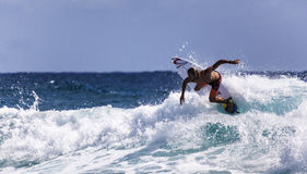 Die besten Surfer Lizenzfreies Stockbild