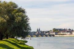 die Besudelte-sur-Loire frankreich Lizenzfreie Stockfotografie