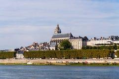 die Besudelte-sur-Loire frankreich Stockfotografie