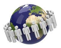 Die Bevölkerung lizenzfreies stockbild