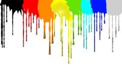 Die Bewegung des Pigments Lizenzfreie Stockfotos