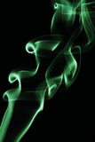 Die Bewegung des Rauches gefärbt ist Unschärfe und Geräusche Lizenzfreie Stockfotografie