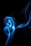 Die Bewegung des Rauches gefärbt ist Unschärfe und noisewith Lizenzfreies Stockfoto