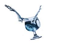 Die Bewegung des Wassers Lizenzfreies Stockbild