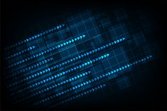 Die Bewegung von Digitalsystemen auf der ganzen Welt Lizenzfreies Stockbild