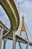 Die Bhumibol-Brücke Stockfotografie