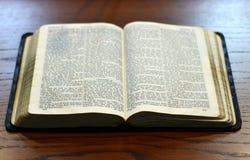 Die Bibel Stockbild