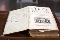 Die Bibel Stockfotografie