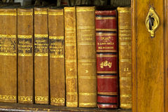 Die Bibliothek Stockfotos