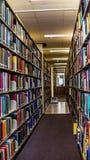 Die Bibliothek Lizenzfreies Stockfoto