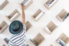 Die Bibliothek lizenzfreie stockbilder