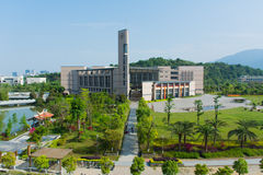 Die Bibliothek Fuzhou-Universität Stockfoto