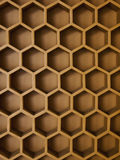 Die Bienenstockwand Stockfoto
