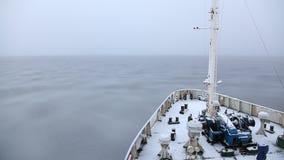 Die Bildung des Eises auf dem Meer stock video footage