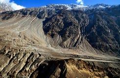 Die Bildungen der Karakoram-Gebirgsstrecke lizenzfreies stockbild