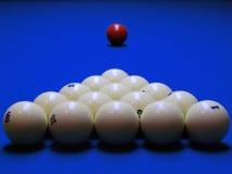 Die Billiardkugeln Lizenzfreie Stockbilder