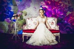Die blühende Braut Stockfotos