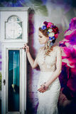 Die blühende Braut Stockbild