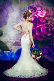Die blühende Braut Stockbilder