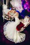 Die blühende Braut Stockfoto