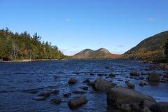 Die Blasen, Acadia-Nationalpark Lizenzfreie Stockfotos