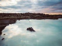 Die blaue Lagune Stockbild