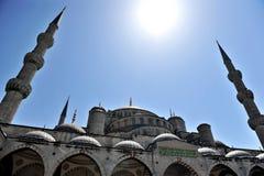 Die blaue Moschee Stockfotografie
