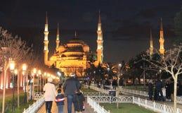 Die blaue Moschee Lizenzfreie Stockfotografie