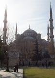 Die blaue Moschee Stockbild
