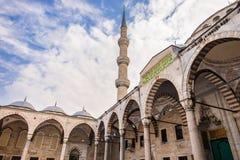 Die blaue Moschee Istanbul, die Türkei Sultanahmet Camii stockbild
