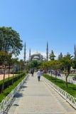 Die blaue Moschee, (Sultanahmet Camii), Istanbul, die Türkei Stockbilder