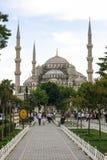 Die blaue Moschee, Sultanahmet Camii, Istanbul, die Türkei Lizenzfreies Stockbild
