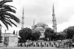 Die blaue Moschee, Sultanahmet Camii, Istanbul, die Türkei Lizenzfreies Stockfoto