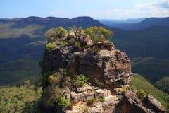 Die blauen Berge in Australien Stockfoto