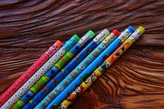 Die Bleistifte Stockbilder