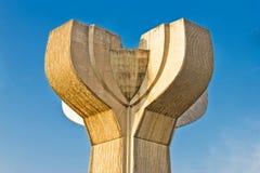 Die Blume Vodice des Steindenkmales Stockfoto