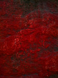 Die blutige Wand Stockfoto