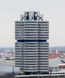 Die BMW-Hauptsitze in München Stockfotos