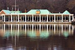 Die boathouse-Gaststätte Lizenzfreie Stockbilder