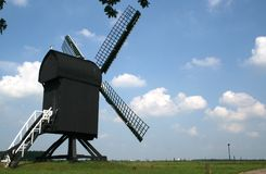 Die Bockwindmühle in Ter Haar Lizenzfreies Stockbild