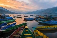 Die Boote Lizenzfreies Stockbild