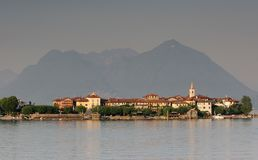 Die Borromee Inseln, Italien stockfoto