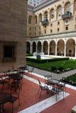 Die Boston-öffentliche Bibliothek ist eins der größten städtischen Systeme der öffentlichen Bibliothek in den Vereinigten Staaten lizenzfreies stockbild