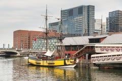 Die Boston-Teeparty in Boston MA Stockfoto
