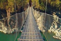 Die Brücke über Green River Lizenzfreie Stockbilder