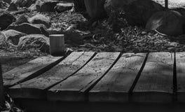 Die Brücke der Schleppangel Lizenzfreie Stockfotografie