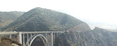 Die Brücke des Big Sur lizenzfreie stockfotos