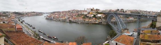 Die Brücke Dom Luiss I, in Porto, Portugal Lizenzfreies Stockfoto