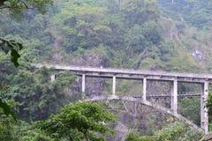 Die Brücke Piket Nol ist eins der Tourismusanlagegüter von Lumajang-Regentschaft lizenzfreies stockfoto